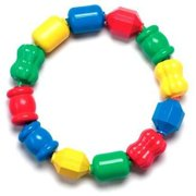 Fisher-Price Snap-Lock Bead Shapes, 12-Count