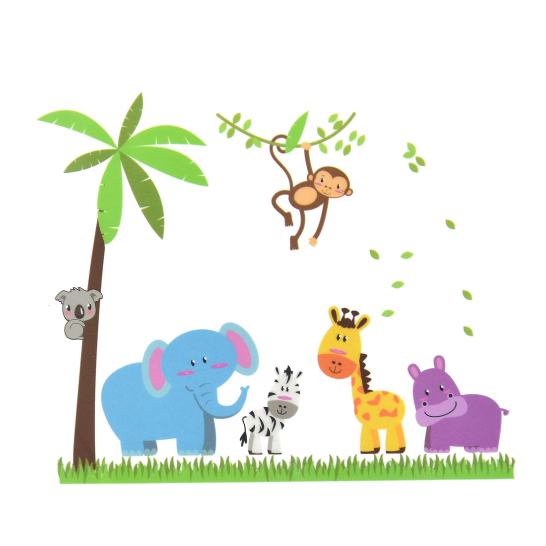 PVC Animals Tree Print DIY Removable Wall Sticker Decal Mural 60 x 90cm