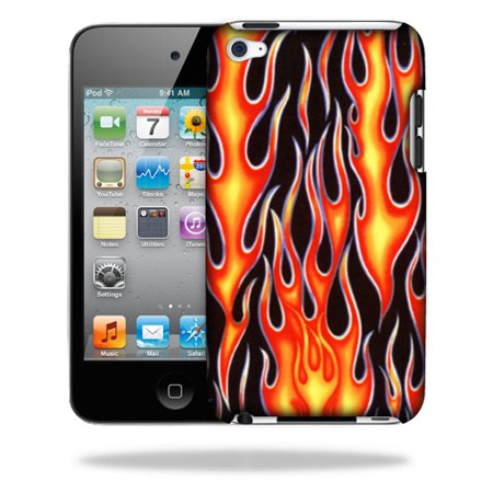 MightySkins Snap-On Protective Hard Case Cover for Apple Ipod Touch 4G Hot