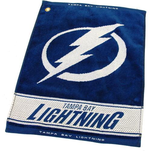 Team Golf NHL Tampa Bay Lightning Jacquard Woven Golf Towel