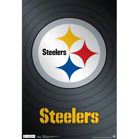 (Pittsburgh Steelers Logo Nfl Sports Poster - 13x19)