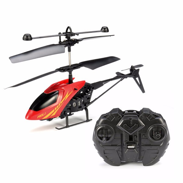 MJ901 2.5CH LED Mini Infrared RC Helicopter Aircraft RC Drone with Gyro+ Remote Control Kids Gifts