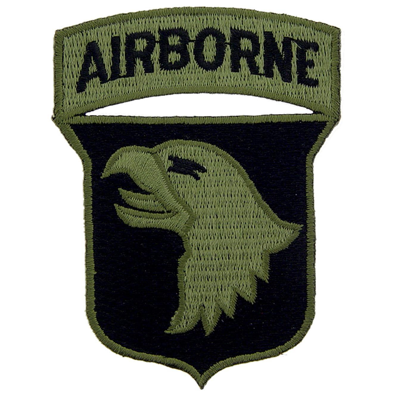 """U.S. Army 101st Airborne Division Patch Green 3"""""""
