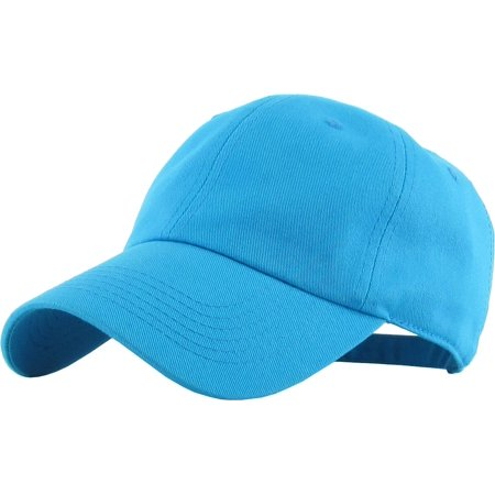 Classic Cotton Dad Hat Adjustable Plain Cap. Polo Style Low Profile (Unstructured) Flexfit Nike Adidas City Hunter