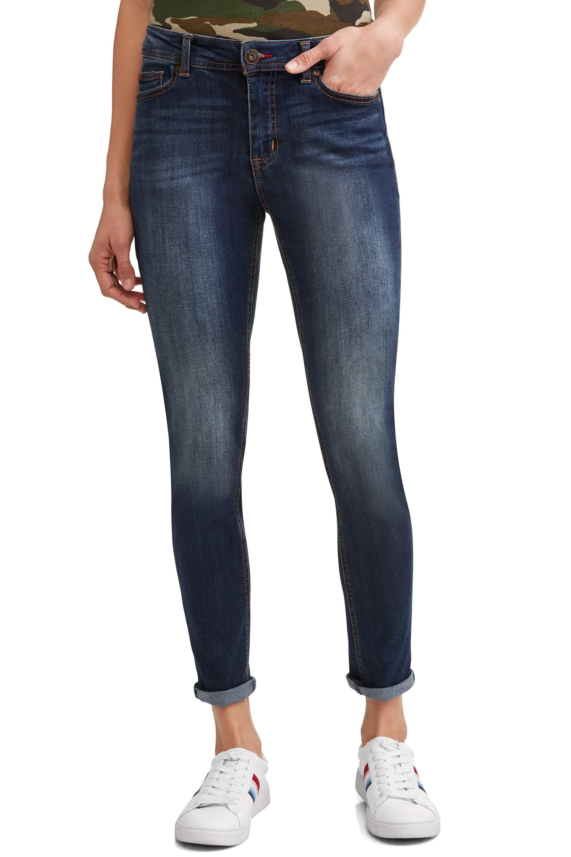 Preston High Rise Skinny Ankle Jean Women's (Medium Wash)