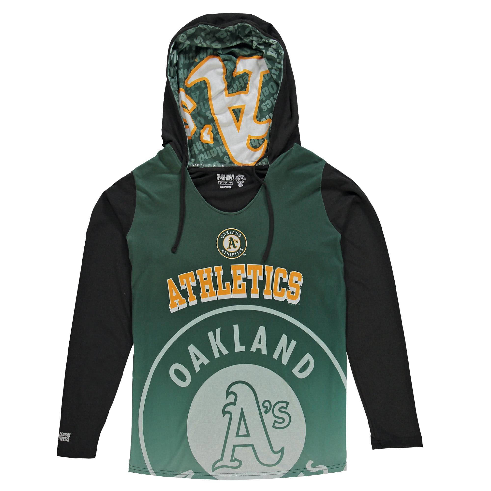 Oakland Athletics Concepts Sport Women's Long Sleeve Hooded Sweatshirt - Green