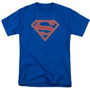 Supergirl Logo Mens Short Sleeve Shirt