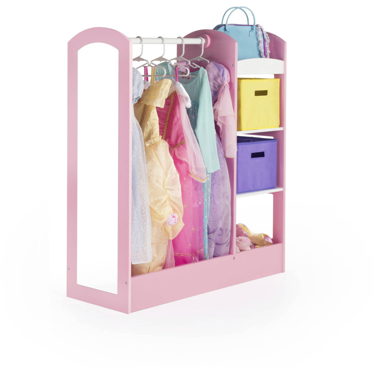 Guidecraft See and Store Dress-Up Center, Pastel
