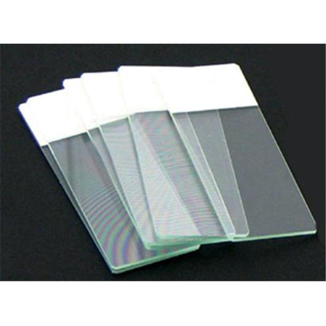 Olympia Sports 16450 Color Coded Microscope Slides - White
