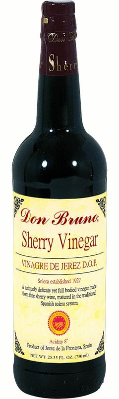 Don Bruno Sherry Vinegar, Aged, 25.4 Oz by Roland Corporation