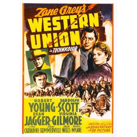 Western Union Canvas Art     24 X 36