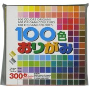 """Origami Paper 3""""X3"""" 300 Sheets-Assorted Colors"""
