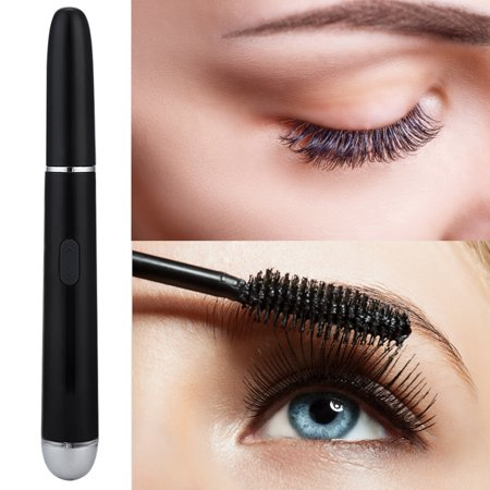 Greensen Multi-function Two-ways Rotation Eyelash Curler Electric Heated Vibration Eye Massager Black (10 Best Eye Curler)