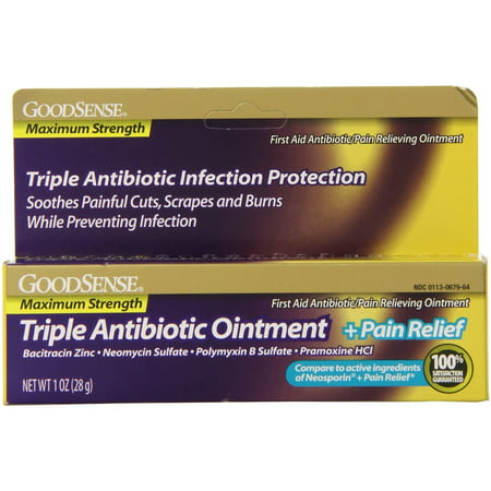 Good sense maximum strength triple antibiotic ointment for Fish antibiotics walmart