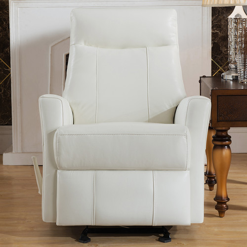 Amax Toledo Leather Manual Recliner