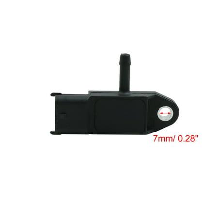 Car DC 12V 3 Pins Exhaust Pressure Sensor 55566186 for Buick