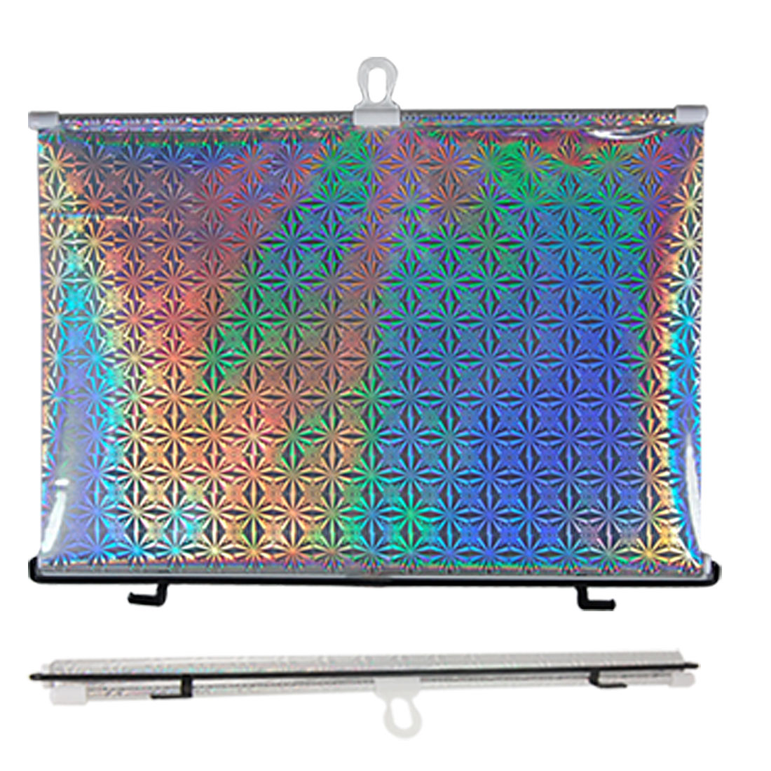 Car Window 45 x 125cm Roll Up Sun Shade w Suction Cup - image 1 of 1
