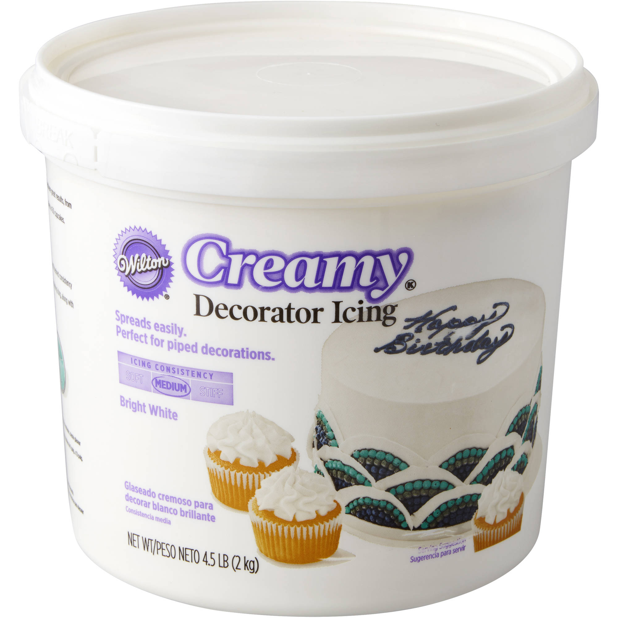 Wilton Decorator Icing Tub, 4.5 lb