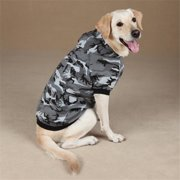 Pet Pals ZA602 20 43 Casual Canine Camo Hoodie Lrg Green
