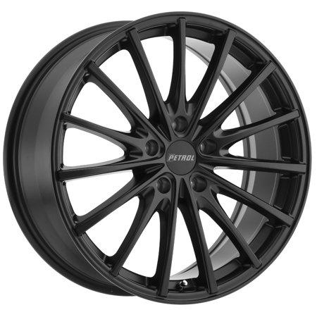Petrol P3A 17x8 5x108 +40mm Matte Black Wheel Rim