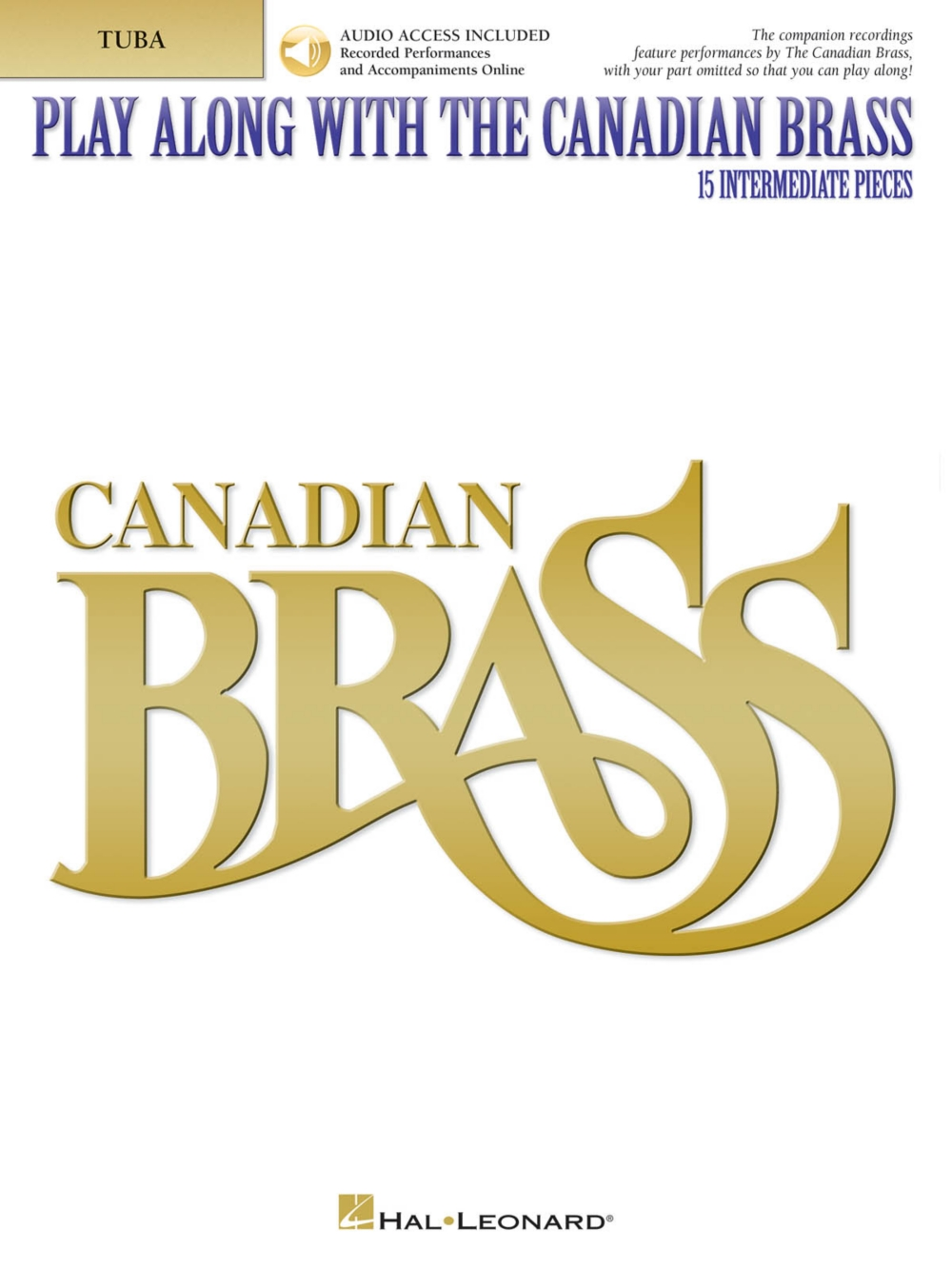 Canadian Brass Play Along with The Canadian Brass Tuba (B.C.) Brass Ensemble Book Audio... by
