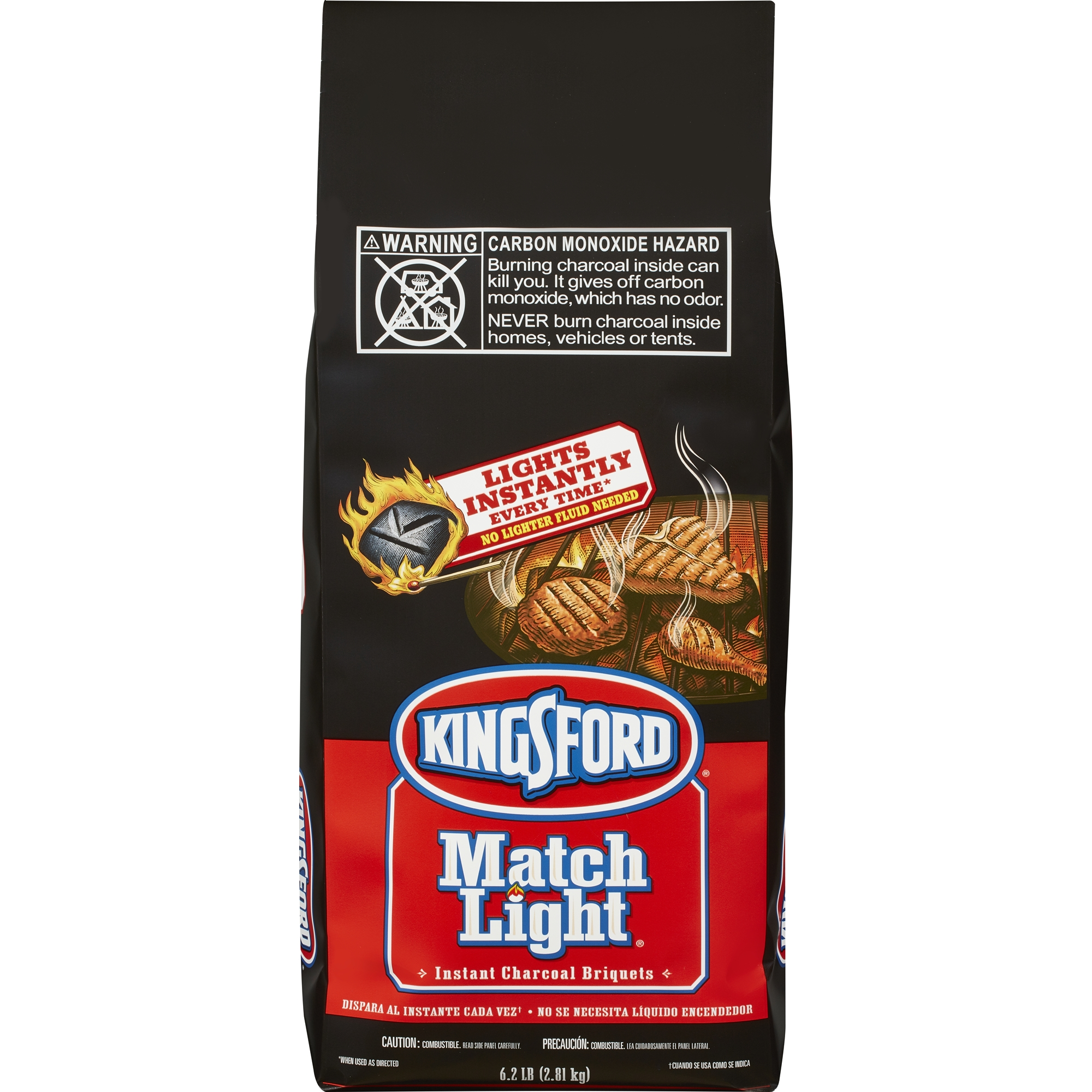 Kingsford Match Light Charcoal Briquettes, 6.2 lbs