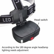 2000LM Rechargeable LED Headlamp Head Light Headlight Lamp adjustable elastic design Outdoor Flashlight for camping, hiking, night fishing, caving - image 2 of 7