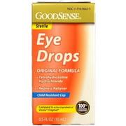 Good Sense Original Formula Eye Drops, 0.5 oz - Case of 24
