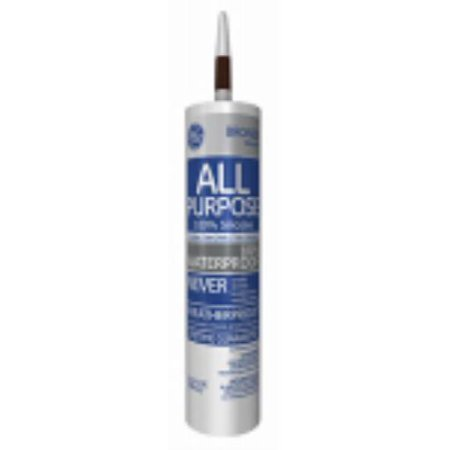 Silicone I OZ Bronze All Purpose Caulk Can Withstand All - Caulk in a can