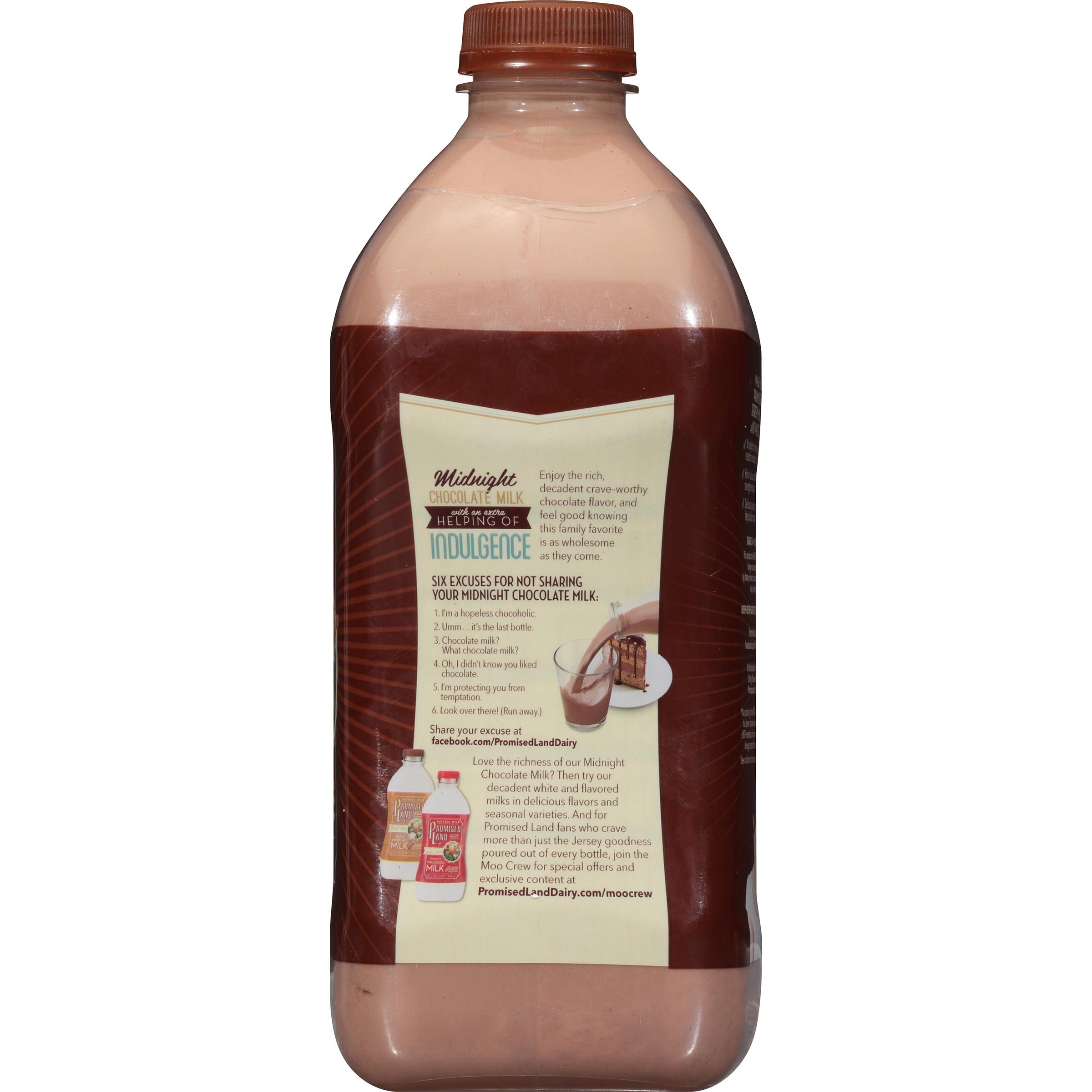 Promised Land Dairy® Midnight Chocolate Milk .5 gal. Bottle ...