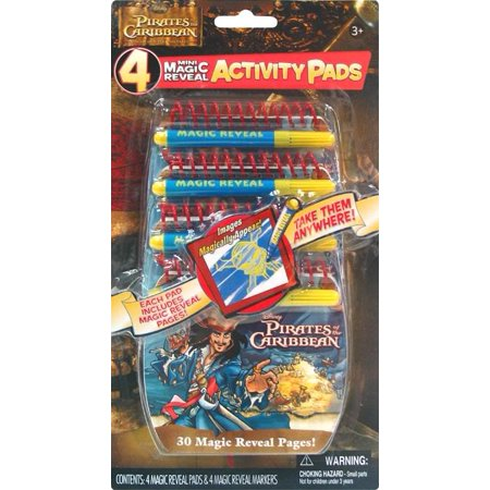 Pirates of the Caribbean Mini Magic Reveal Activity Pads 4