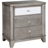 Furniture of America Ardelia Modern 3-Drawer Nightstand, Multiple Colors