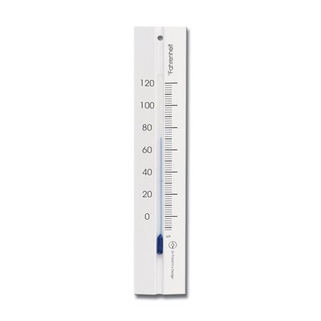 Wall Thermometer 7.8 inch Beechwood White Finish