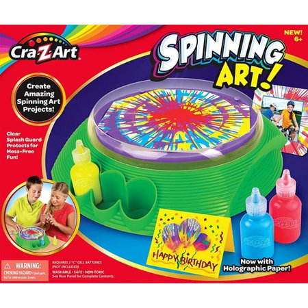 Scented Spin Art -