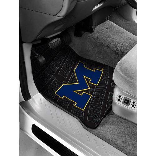 NCAA -Michigan Floor Mats - Set of 2