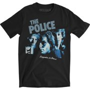 Police Men's Reggatta De Blanc Slim Fit T-shirt Small Black