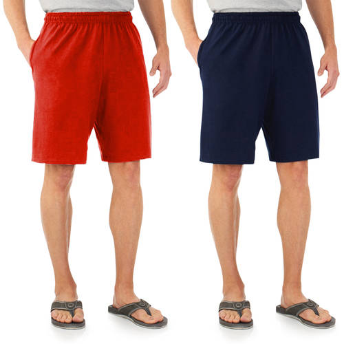 Fruit of the Loom Men's Knit Short, 2 Pack