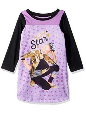 jojo long sleeve nightgown (big girl & little girl)