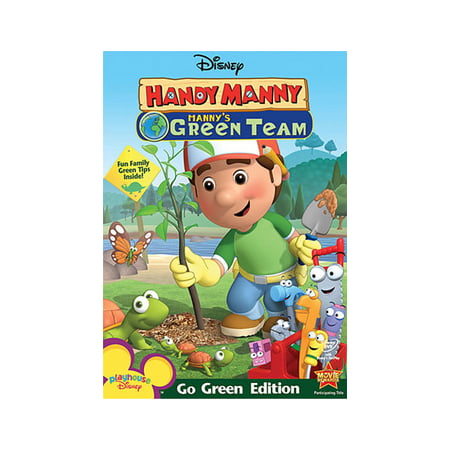 Handy Manny: Manny's Green Team (DVD)