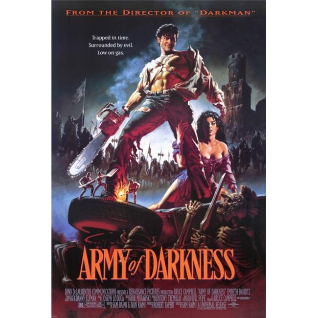 Pop Culture Graphics MOVGH5399 Army of Darkness Movie Poster Print, 27 x 40 - image 1 of 1