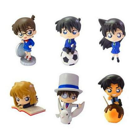 Detective Conan Case Closed Color Collection Mini PVC Figures 1 Random Blind