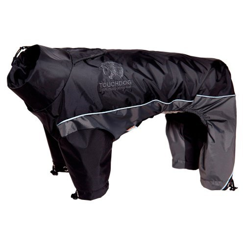 Pet Life Touchdog Quantum-Ice Full-Bodied Adjustable and 3M Reflective Dog Jacket with Blackshark Technology