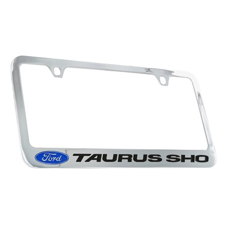 Ford Taurus SHO Chrome Plated Metal License Plate Frame