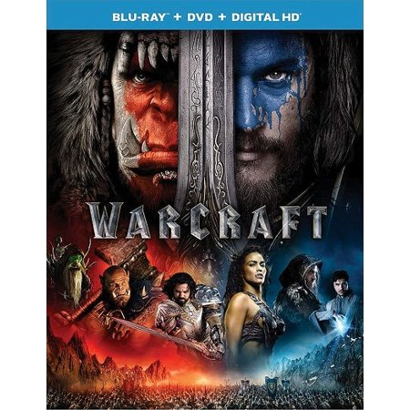 Warcraft Blu-Ray Travis Fimmel, Paula Patton, Ben Foster