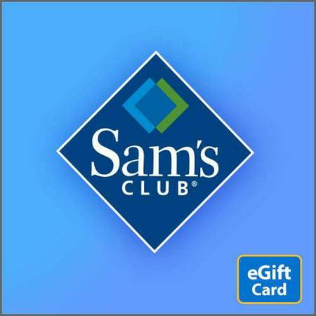 Samsclub Com Credit Login >> Sam S Club Egift Card
