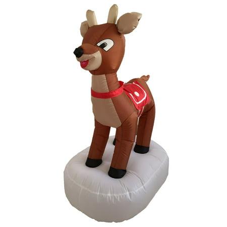 4' Inflatable Reindeer