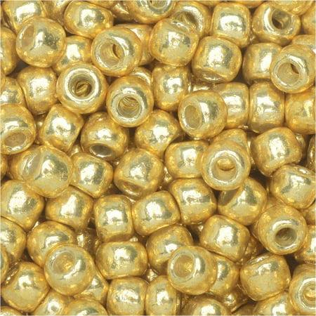 (Toho Round Seed Beads 8/0 #PF557 'Galvanized Starlight' 8g)