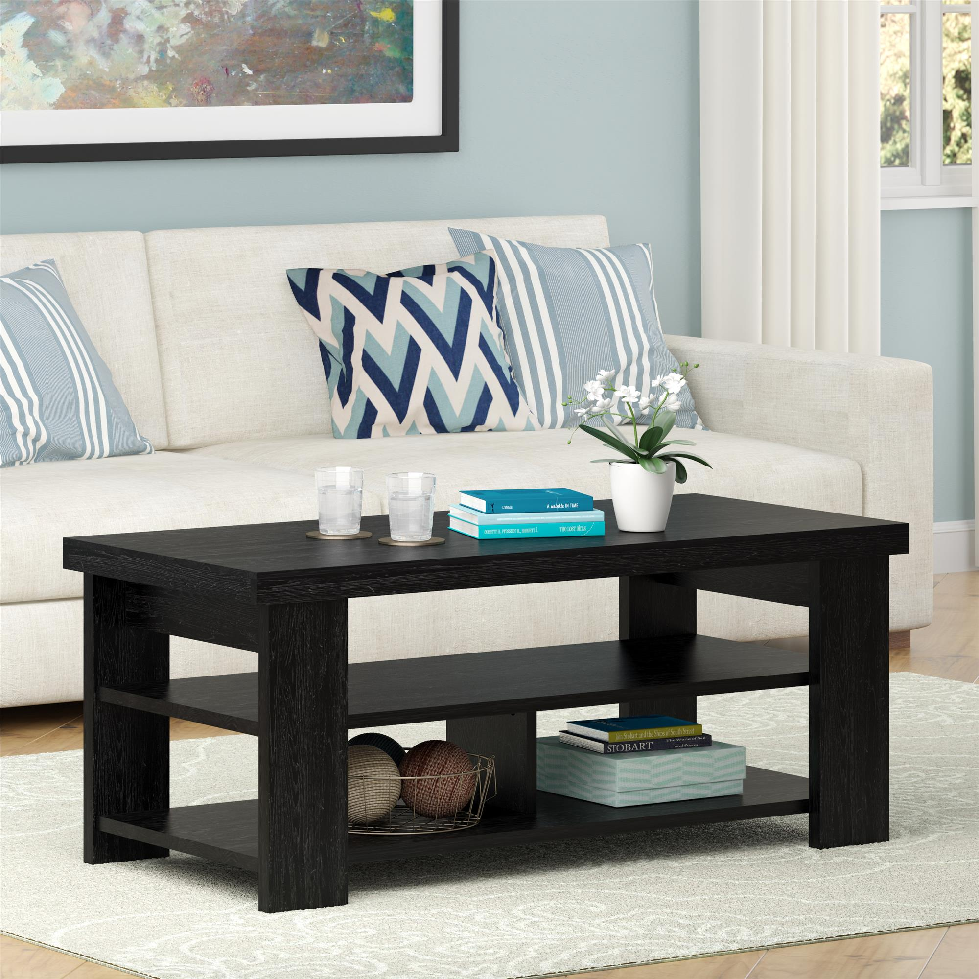 Ameriwood Home Jensen Coffee Table Multiple Colors Walmart