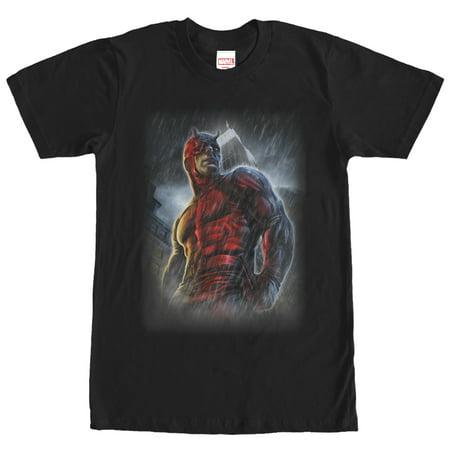 Marvel Men's Daredevil Superhero City Rain T-Shirt](Daredevil T Shirt)
