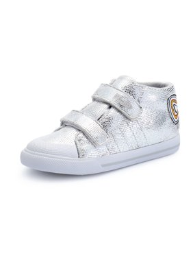 Weestep Toddler Little Kid Girl Mid Top Fashion Sneaker